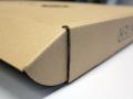 Musterverpackungen-braune Wellpappe