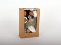 Verpackungsentwicklung-Kunststoffabdeckung